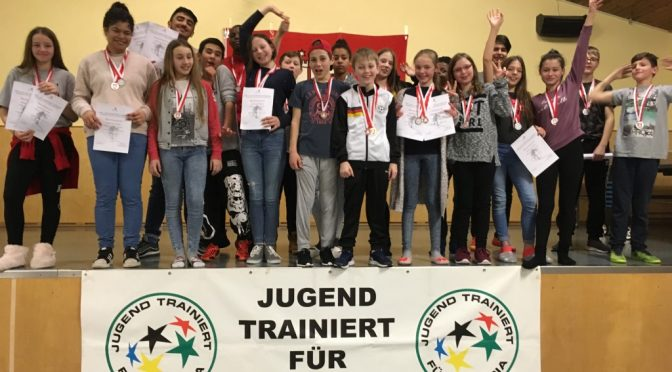 Jugend trainiert für Olympia – Skilangläufer der GSSt Hamburger Meister