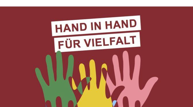 Foto-Mitmach-Aktion am Osdorfer Born– Hand in Hand für Vielfalt